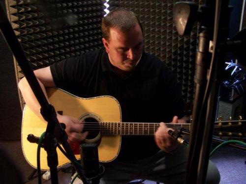 Nahrávání ve studiu WonderLost 04/19